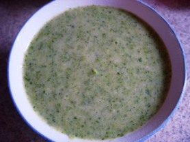 broccoli rice soup