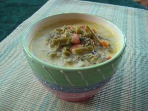 "asparagus ""cream"" soup"