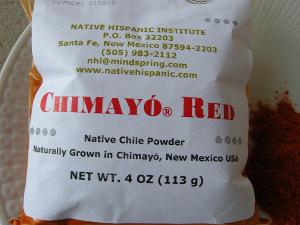 Chimayo chile powder