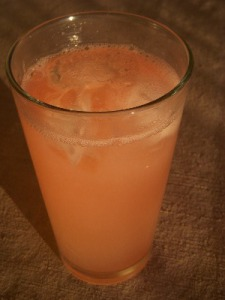 homemade grapefruit soda